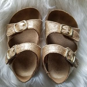 Other - Toddler size 5 gold sandals